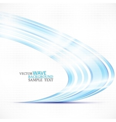 abstract colorful stylish blue circle wave vector image vector image