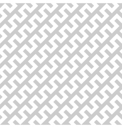 White zigzag lines in diagonal arrangement on grey vector image vector image