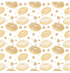 beautiful seamless pattern with vector image