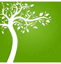 Background with tree vector image