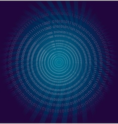 Abstract binary background vector image