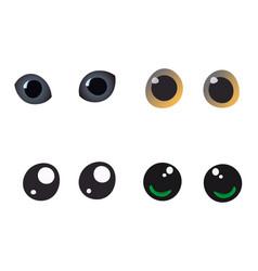 Cute eyes vector