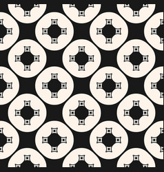 geometric simple ornamental seamless pattern vector image