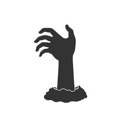 Hand from ground vector