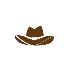 hat west icon vector image
