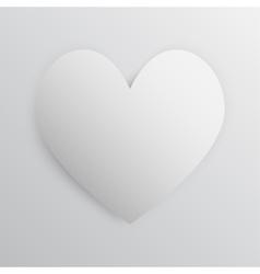 I love you White frame Valentines Day vector