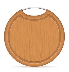 cutting board 08 vector image vector image