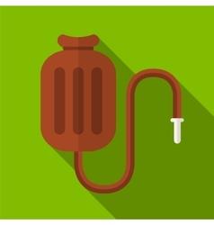 Medical warmer flat icon vector image vector image