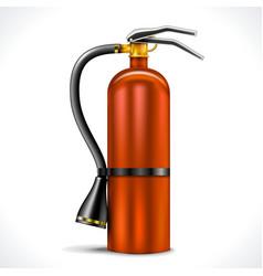 Vintage Fire Extinguisher vector image vector image