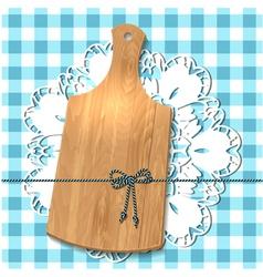 wooden utensil13 vector image vector image