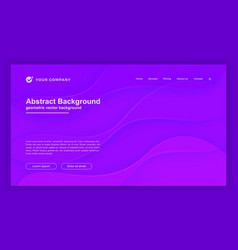 abstract dynamic purple background for web page vector image