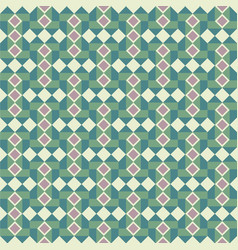 Abstract pattern with squares vector
