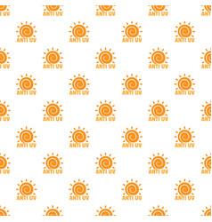 Anti uv sun pattern seamless vector