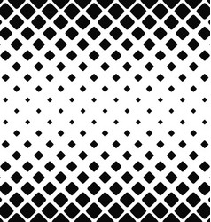 Black and white rounded square pattern vector image