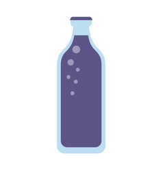 bottled water icon image vector image