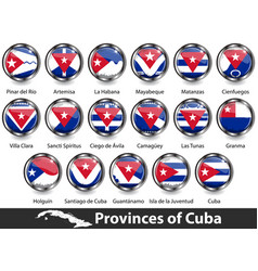 Counties cuba vector