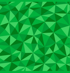 green crumpled paper with geometric seamless vector image