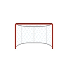 Hockey gates flat icon vector image