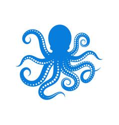 Octopus icon vector
