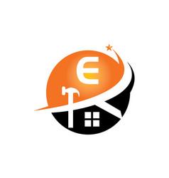 Restorations and constructions initial e vector
