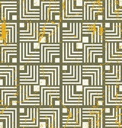 Retro geometric seamless background vintage repeat vector