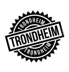 Trondheim rubber stamp vector