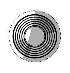 Vintage vinyl music vector