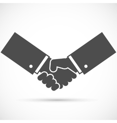 Businessman handshake vector image