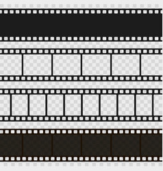 film black and white strip vector image