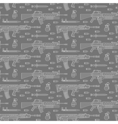 Seamless military pattern 02 vector