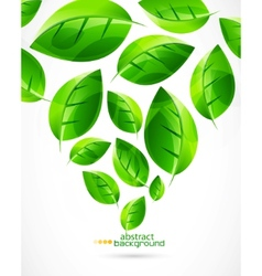 nature green concept background vector image