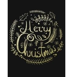 A Christmas wreath vector