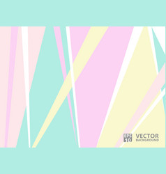 abstract of stylish color tone soft sweet vector image