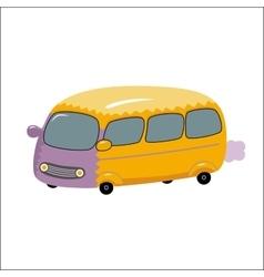 Bus Dodo collection vector image vector image