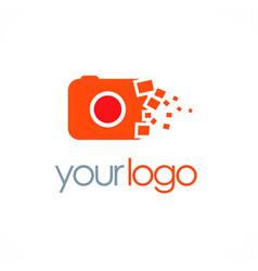Camera photo digital logo vector