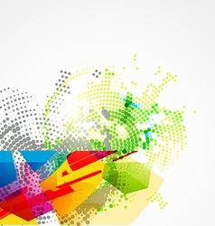 Creative abstract art vector