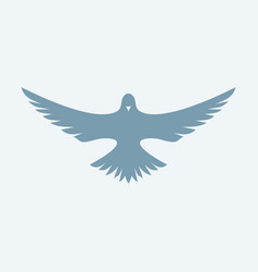 dove symbol of the holy spirit vector image
