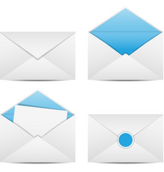 Envelopes and Letter vector image