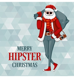 Hipster Christmas vector