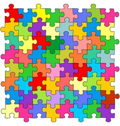Puzzles vector