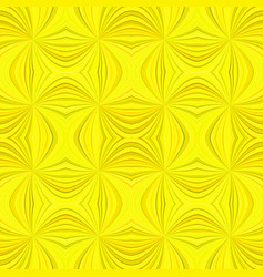 yellow abstract psychedelic seamless striped vector image