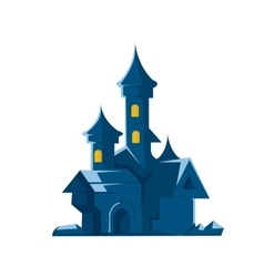 Dark castle of vampires on vector image vector image