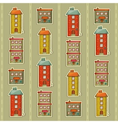 Town Background vector image