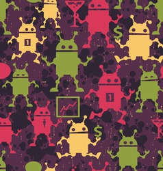 Android Pattern vector image