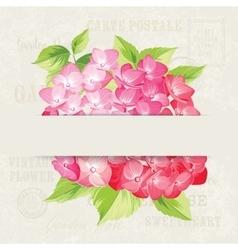 The Wedding invitation vector image vector image