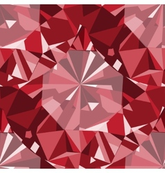 Ruby seamless pattern background vector image