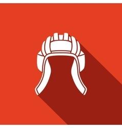Tankman hat icons vector image