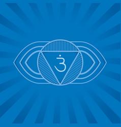 Ajna - the six primary chakra vector