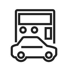 Auto Loan Calculator vector image