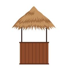 Beack kiosk stand vector